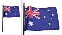 Bandiera Bandierina Flag Da Collezione - Australia - In Tessuto Asta E Puntale -  - ebay.it