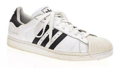 ADIDAS Originals SUPERSTAR II Shoes 13 Mens G17068 White Black Shelltoe Sneakers
