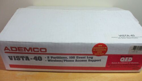 Honeywell/Ademco VISTA-40 2 Partitions Alarm/Security System Panel, New in Box