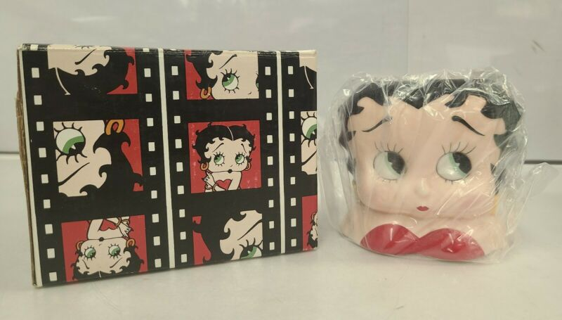 BETTY BOOP Adorable Coffee Mug King Feature Syndicate 1995 VANDOR w/ Box