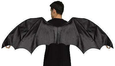 ft Wingspan Dark Angel Bat Goth Halloween Cosplay Accessory (Black Dragon Wings)