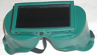 Gateway 2 X 4 14 Gas Welding Safety Goggles Shade 5 Fixed Lens