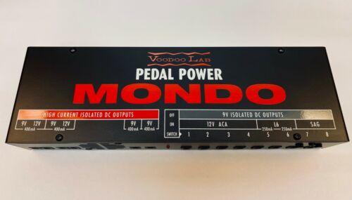 Voodoo Lab Pedal Power MONDO Factory Direct Demo Model w/ Full Warranty
