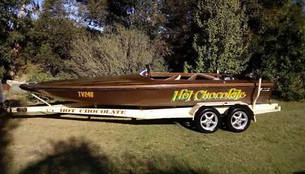 Shepirocraft ski boat