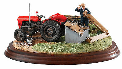 New Border Fine Arts Massey Ferguson Tractor Model Title Is Repairs Required