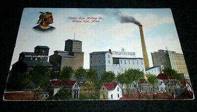 Rare Sleepy Eye Milling Company, Sleepy Eye, Minnesota Vintage Postcard