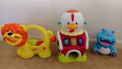 Baby toddler interactive toy bundle