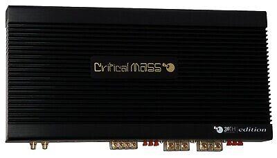 CRITICAL MASS AUDIO CM-A30th2.5K BASS MONO AMPLIFIER AMP 2500 RMS BEST USA $18K