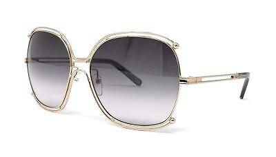 CHLOE Sunglasses CE129S 744 Gold/Grey 59x16x140