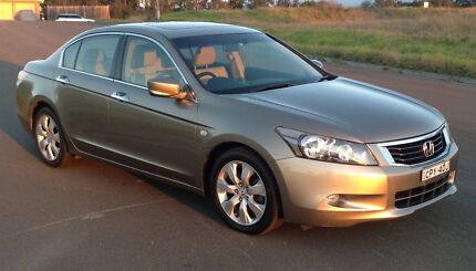 Honda Accord Luxury 2.4 Litre VTEC Rouse Hill The Hills District Preview