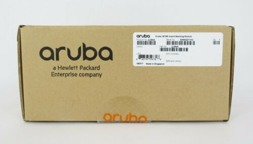 JL084A HPE Aruba 3810M 4-Port Stacking Module | HPE | NEW in Open Package
