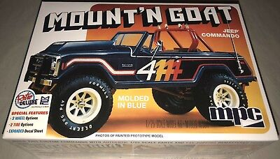 MPC Jeep Commando Mount'n Goat 1/25 scale model car truck kit new 887