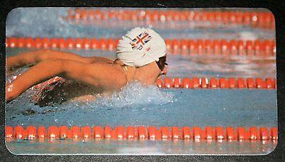 Womens Swimming    Sharron Davies  Great Britain   Photo Action Card  # VGC