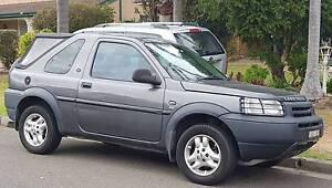 2003 Land Rover Freelander Convertible Campbelltown Campbelltown Area Preview