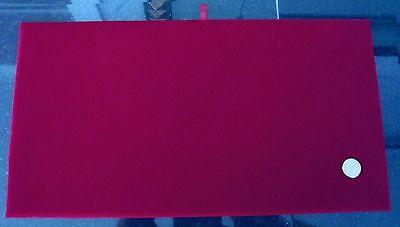 Red Velvet Jewelry Display Pad Full Size 14 X 7 12 X 14 Pin Jewelry Jd016