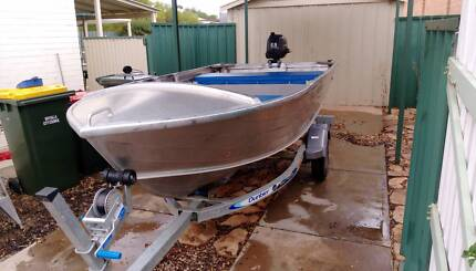 3.75m Aluminium Boat with Yamaha Motor