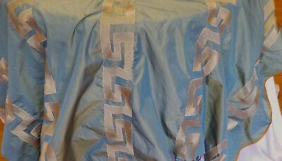 Two Tone Embroidered 100% Poly Taffeta Silk Like Fabric 60
