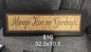 Always kiss me goodnight picture