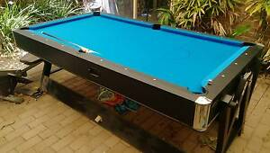 Dual Pool Table/Air Hockey Table w/ Billiards Accessories Sheidow Park Marion Area Preview