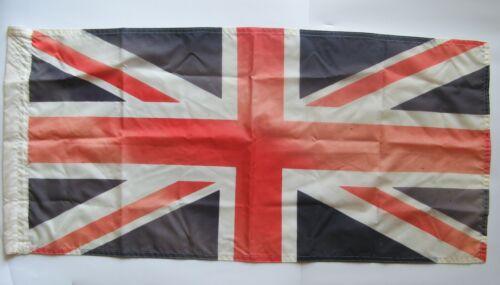 "Vintage - Nylon - Union Jack - Bruck Fabric, Cowansville - 37¾"" x 17½"""