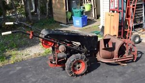 Gravely convertible with snowblower