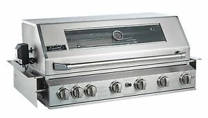 Smart 6 Burner Built-In BBQ with Rear Rotisserie Burner (601WB-W)
