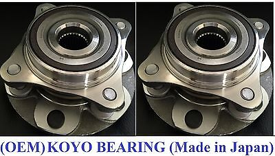 Front Wheel Hub & KOYO Bearing Assembly fit TOYOTA TACOMA (4WD) 2005-2013 (PAIR)