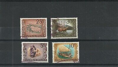 Papua & New Guinea 1970  Heritage Set of 4 values Used Hinged  scan 1030