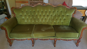 Antique Lounge - Queen Anne Style Pennant Hills Hornsby Area Preview