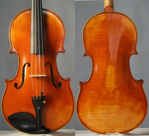 "16"" Professional antique Viola, profound tone, european wood instrument"