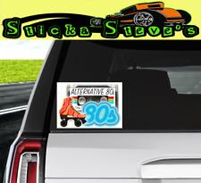 Set Of 2x Alternative 80 S Cool Vinyl Sticker Decals Ebay