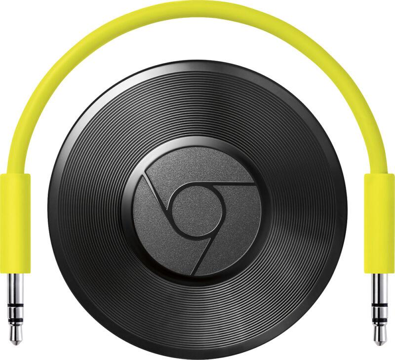 Google Chromecast Audio Black RUX-J42