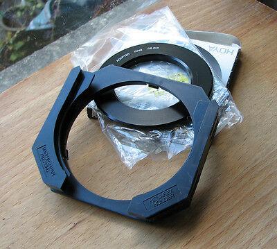 genuine Hoyarex  Filter system  holder & 48mm canon fit  adapter made in japan