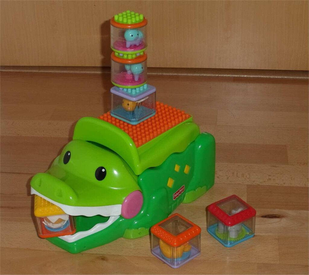 Fisher-Price Stacks & Smile Crocodile