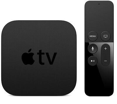 Apple TV 4th Gen 64GB With Kodi 17.3, Popcorn Time, Live Wire, and Safari