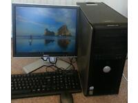 """Dell Optiplex 745 + 17"""" Dell Monitor"""