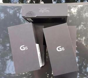 Brand New in Box LG-G6 Fully Unlocked Canadian (Silver) = $600 ;US Verizon (Black) = $575