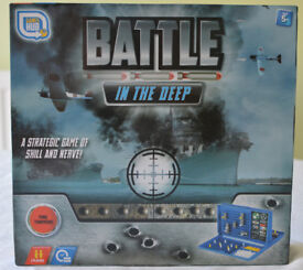 *New* Battle in the Deep, battle ships board game