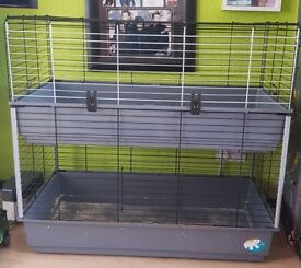 Tiered Guinea Pig Cage + New Water Bottle