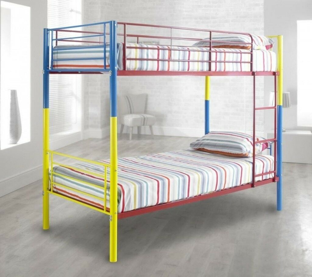 Coloured Bunk Bed Frame In Salford Manchester Gumtree