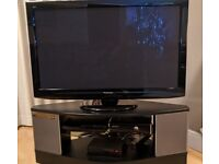 Panasonic 42in Plasma Full HD TV and Dolby 5:1 surround sound TV stand