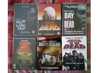 Night of the Living Dead, Dawn of the Dead, Day of the Dead DVD Collection