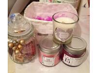 Candles & jars