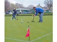 Try croquet for free this Sunday 23rd April at Balgreen Croquet Club