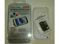 Samsung Galaxy S3 Mini External Battery Case Charger - New
