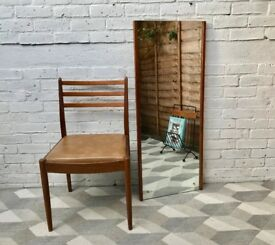 Vintage Retro Rectangular Mirror #611