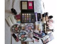 COSMETICS - BARGAIN COLLECTION, VARIOUS MAKES, NEW AND USED.
