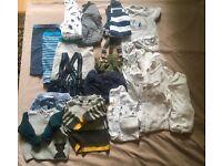 Baby boy 0-3 months clothes NEXT mothercare mamas and papas bundle