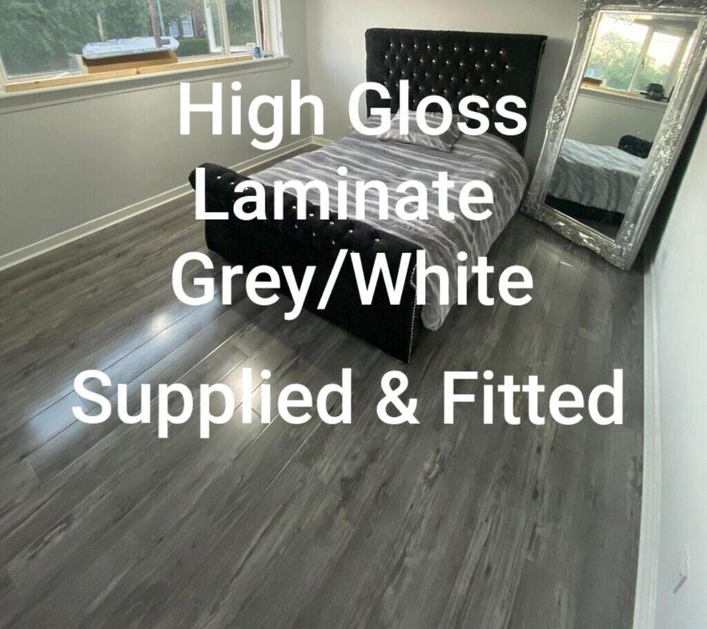 High Gloss Laminate Flooring Varnished, Gloss Laminate Flooring Glasgow