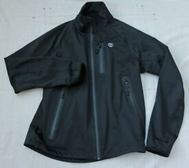 TIMBERLAND WIND RESISTANT, WATER PROOF, BREATHABLE JACKET IN BLACK